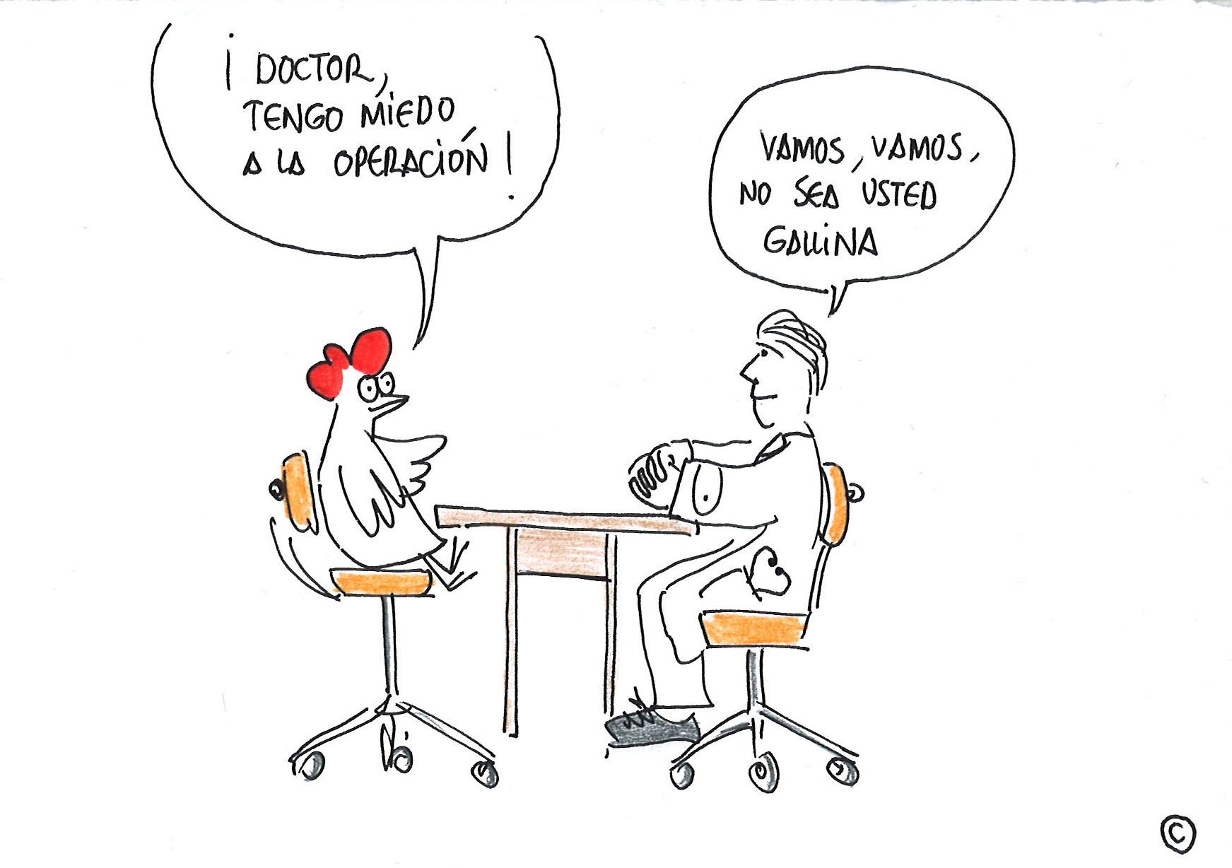 Paca con el Doctor